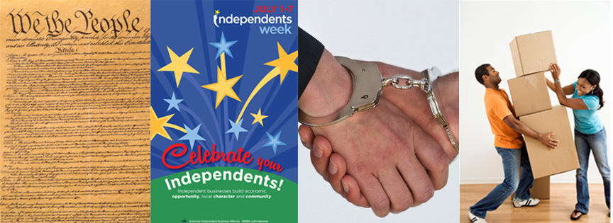 Ken Donaldson on Are We Too Dependent? Independence, Independents, Codependence and Interdependence…
