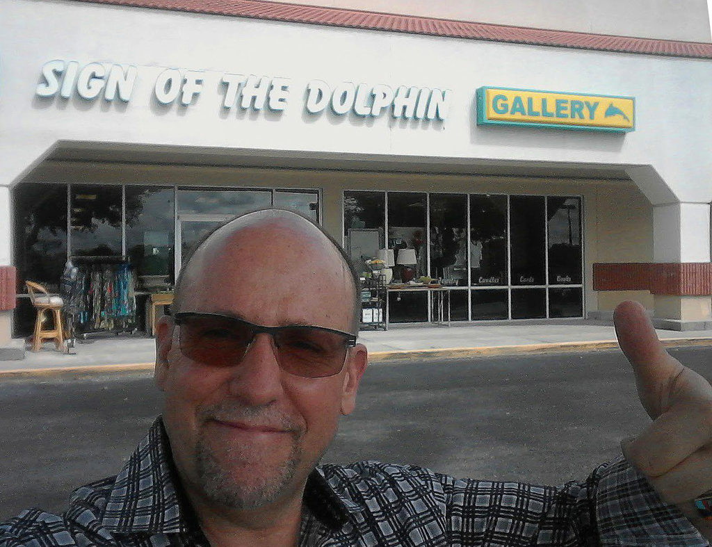 Ken Donaldson at Sign of the Dolphin